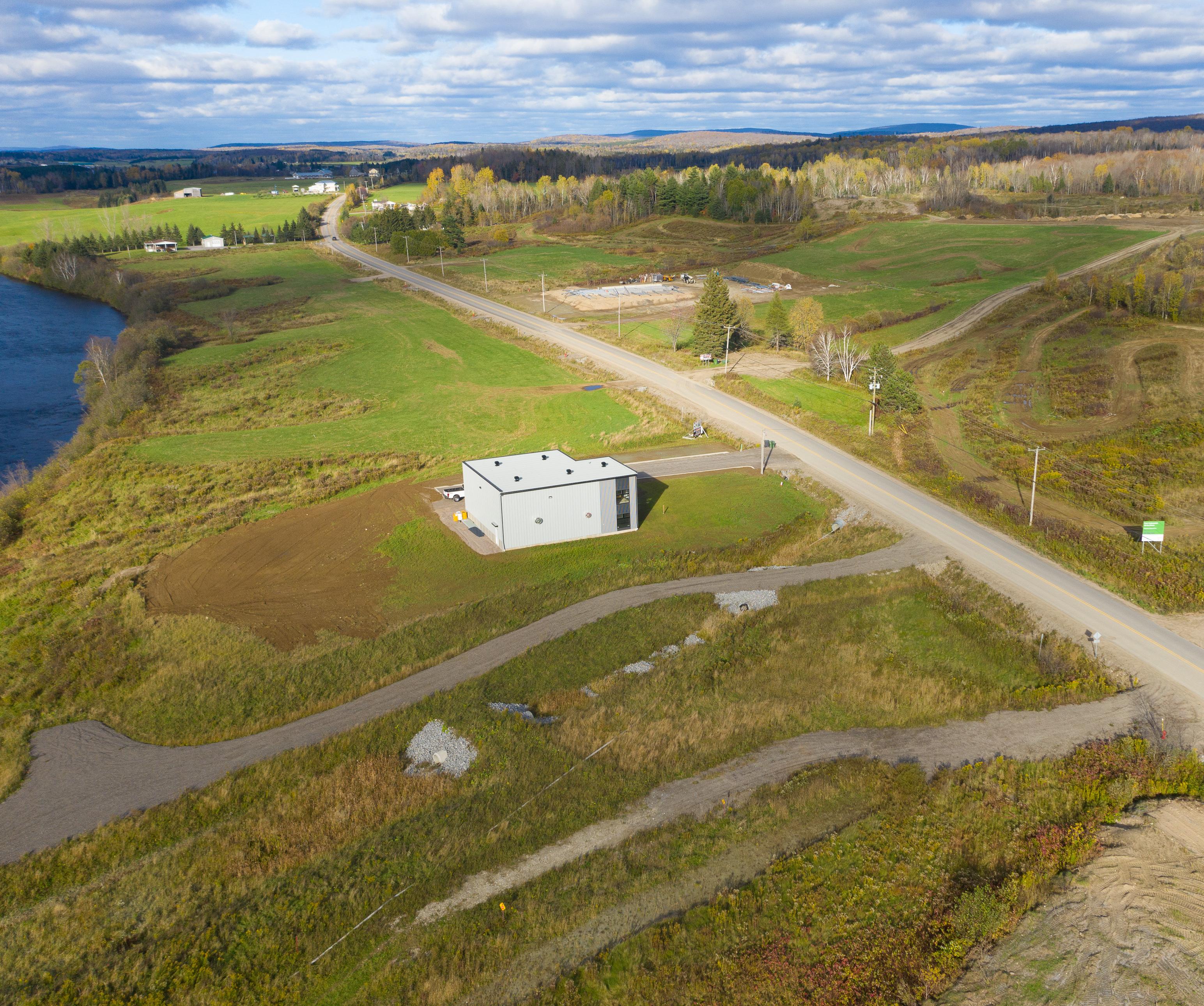 Usitech Inc. : Nouvelle entreprise en construction dans le Parc industriel de la Lièvre à Mont-Laurier