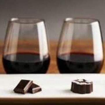 Valentin littéraire, porto et chocolat!