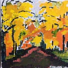 Exposition des peintures de Diane Houde