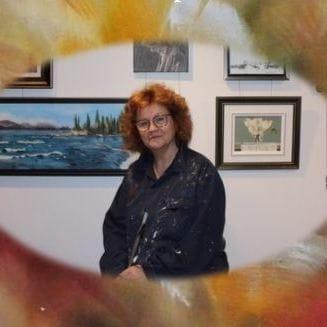 Vernissage de Lucie Prénoveau, artiste peintre