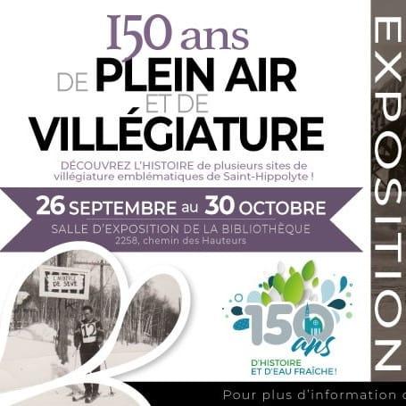 Expositions: 150 ans de plein air et de villégiature
