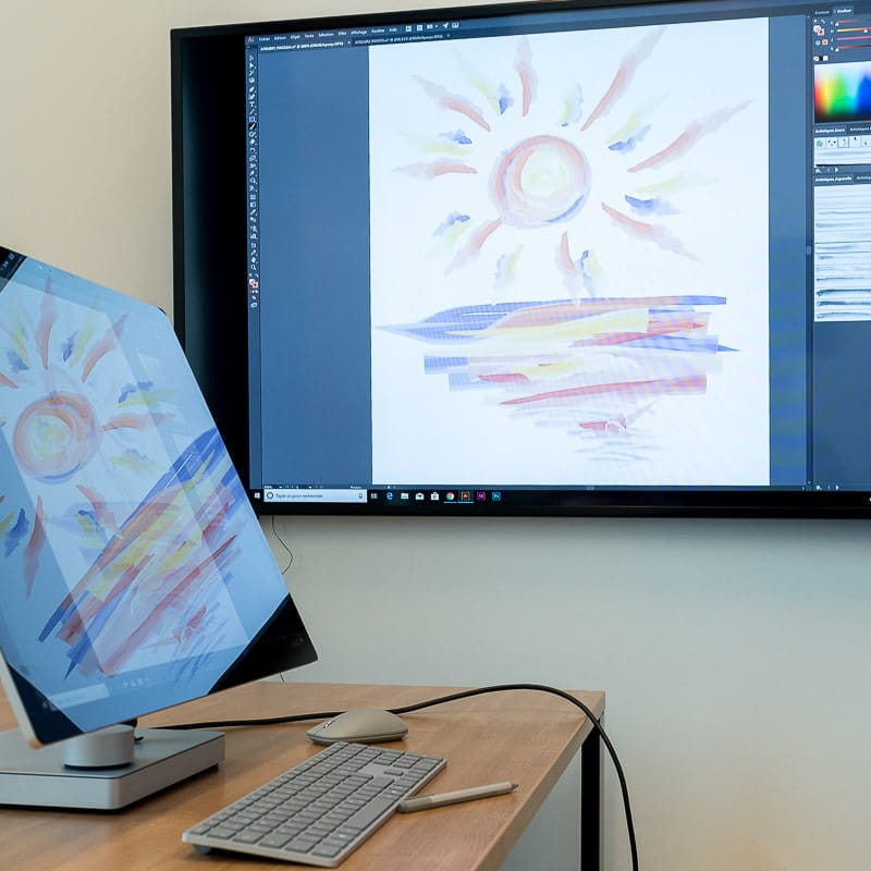 Initiation à la surface studio
