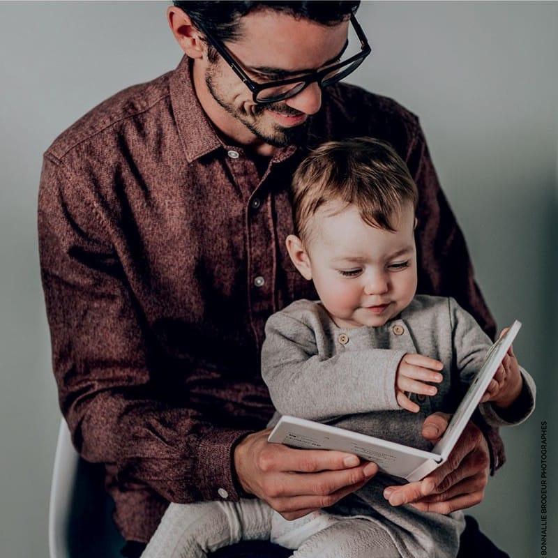 Une naissance, un livre
