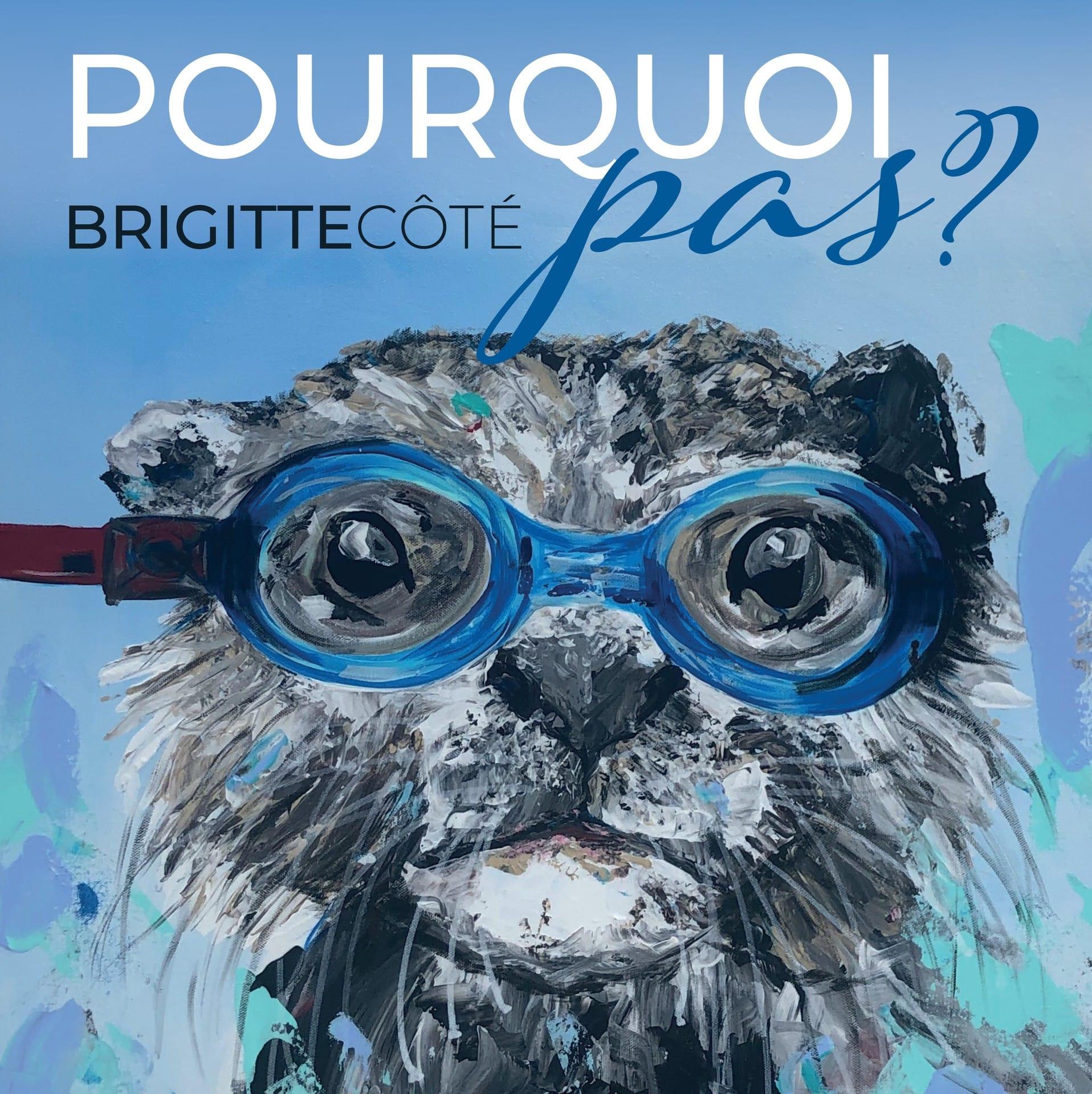 Vernissage de Brigitte Côté, artiste peintre