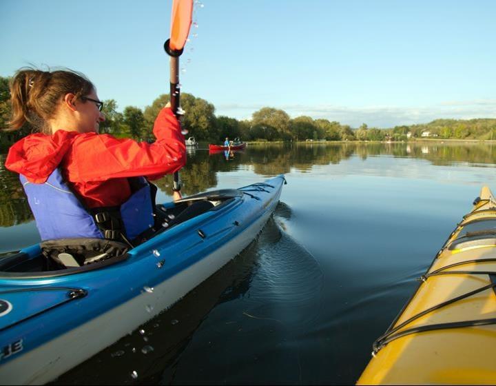 Carte Bleue Kayak.Le Corridor Bleu Destination Sherbrooke