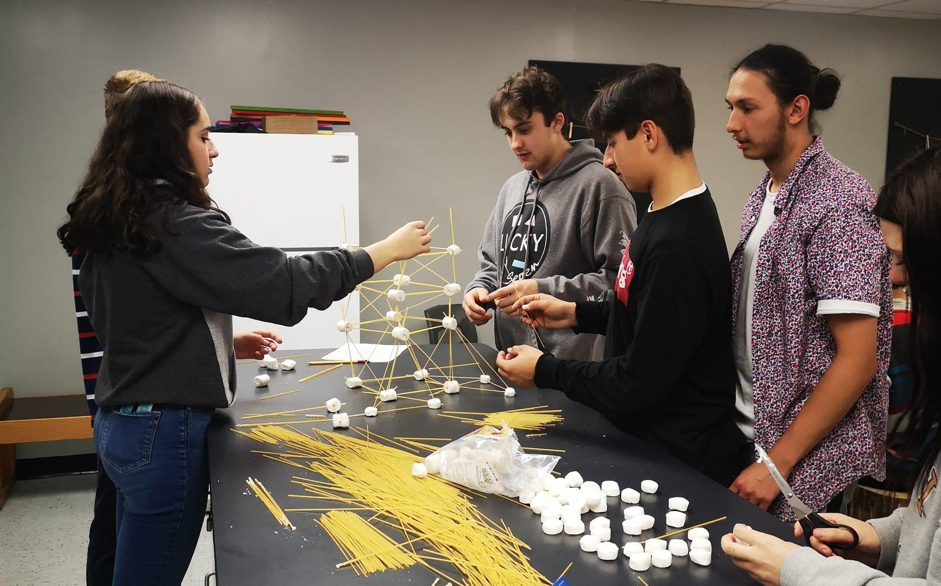 La tour sucrée-salée dans le cours d'entrepreneuriat