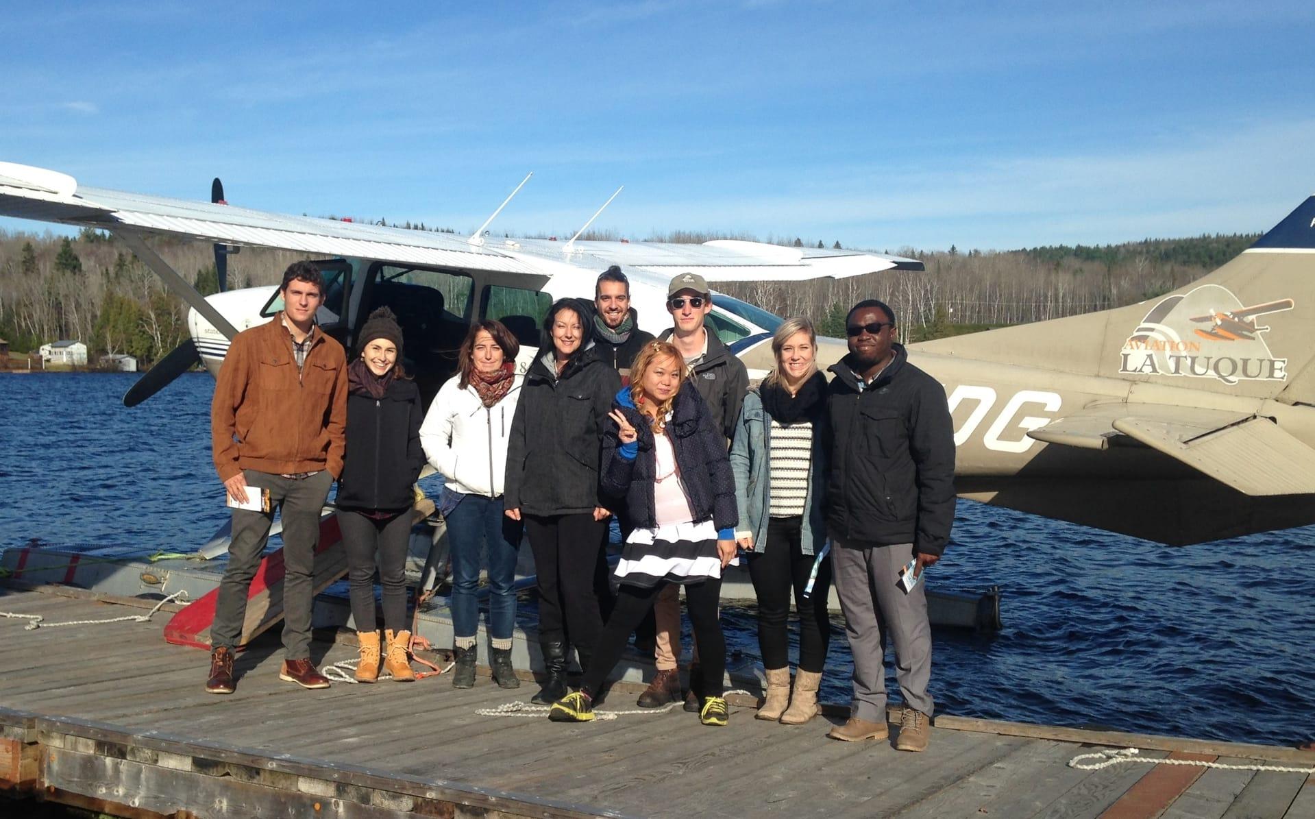 Sept candidats qualifiés dans divers domaines visitent le Haut-St-Maurice!