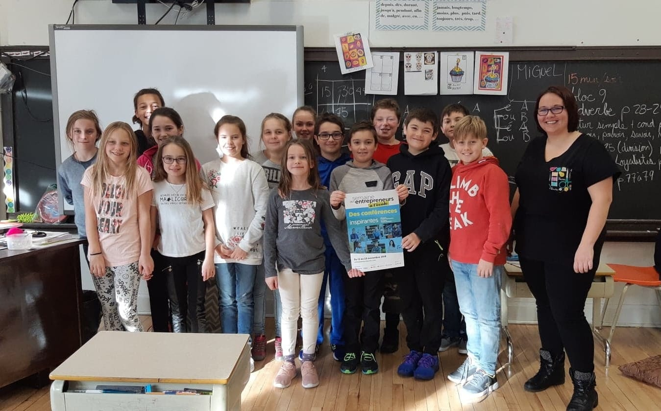 Bilan positif pour la 2e édition de La semaine des entrepreneurs à l'école