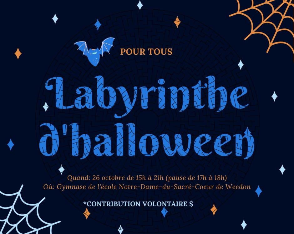 Labyrinthe d'Halloween à Weedon