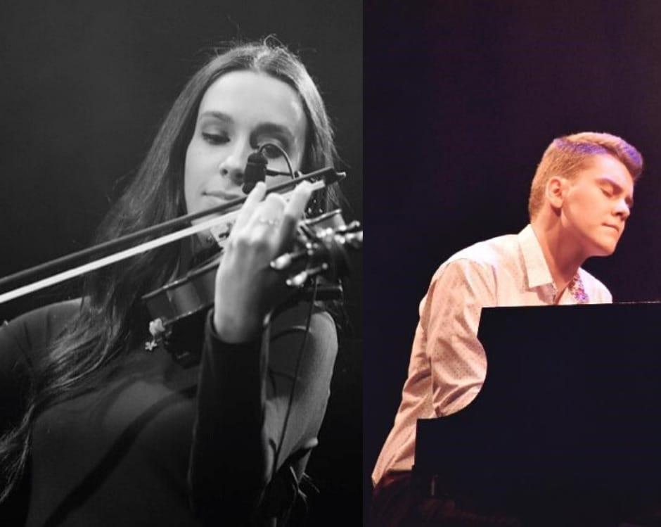 Léa Beaudry et Louis-Charles Morin à la Maison culturelle