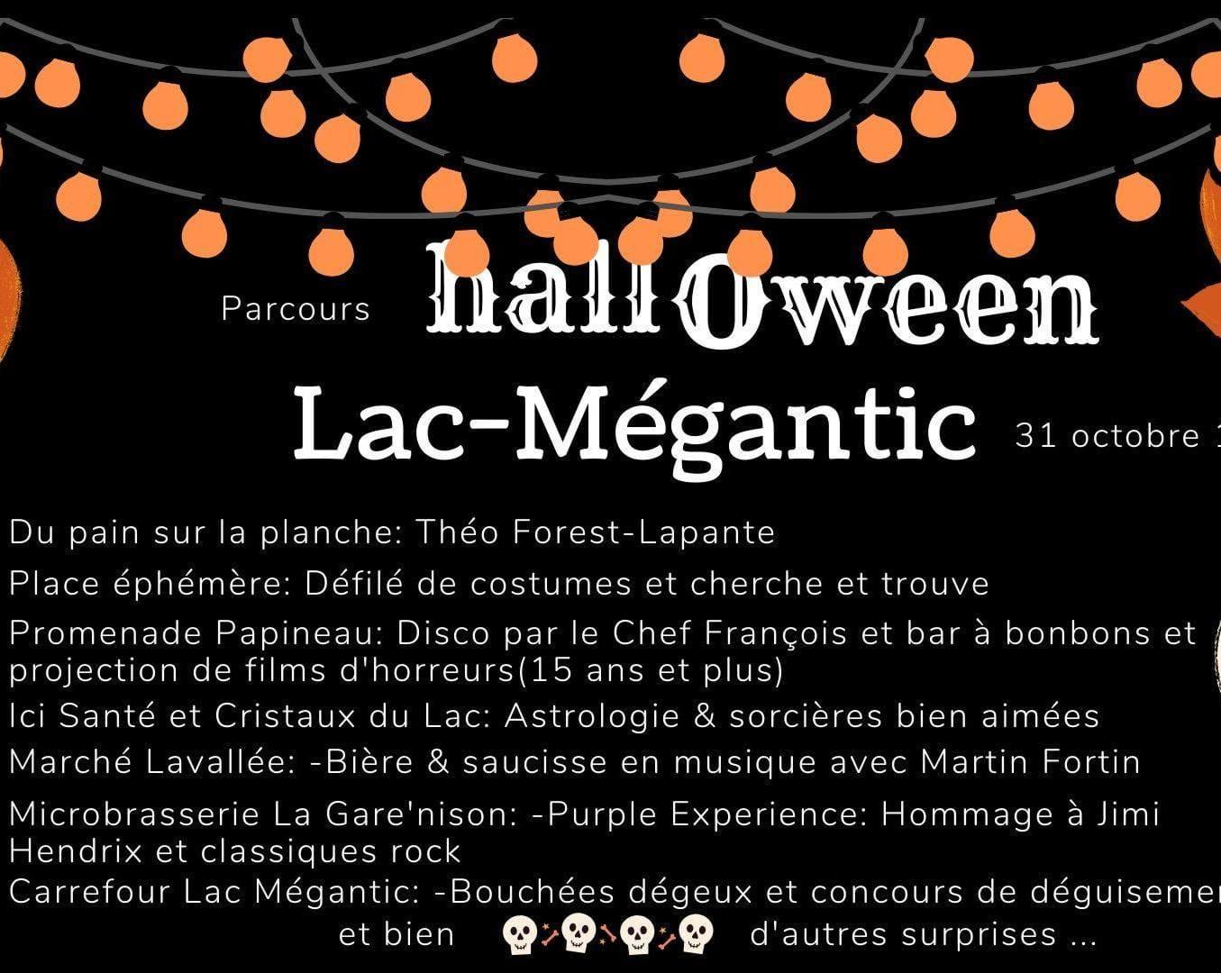 Festival Halloween Mégantic