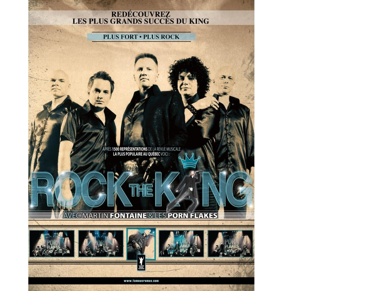Rock The King (Martin Fontaine et Les Porn Flakes)