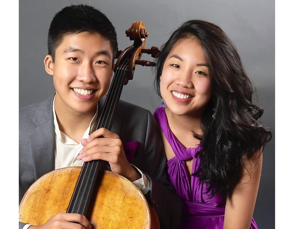 Cheng Duo, concert piano violoncelle