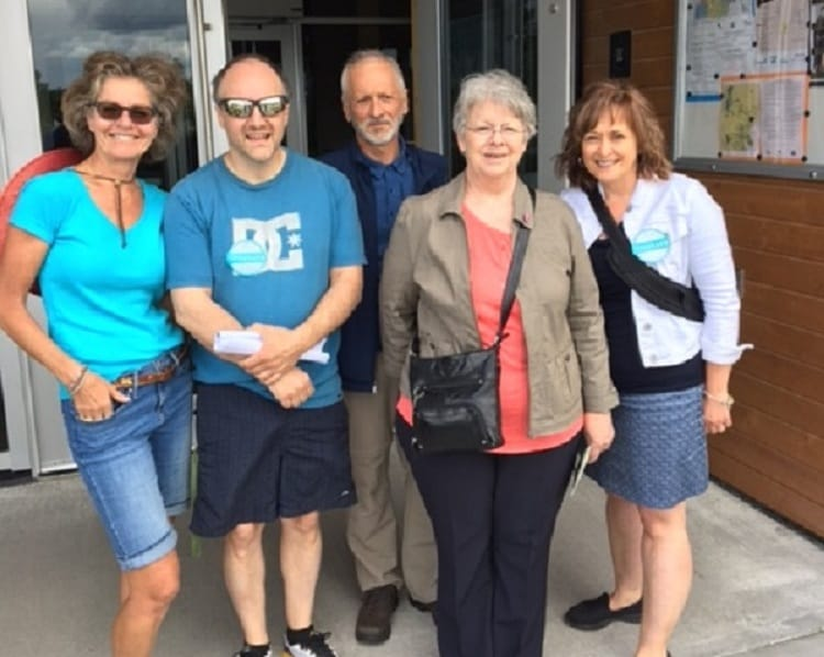 Greeters of Lac-Mégantic