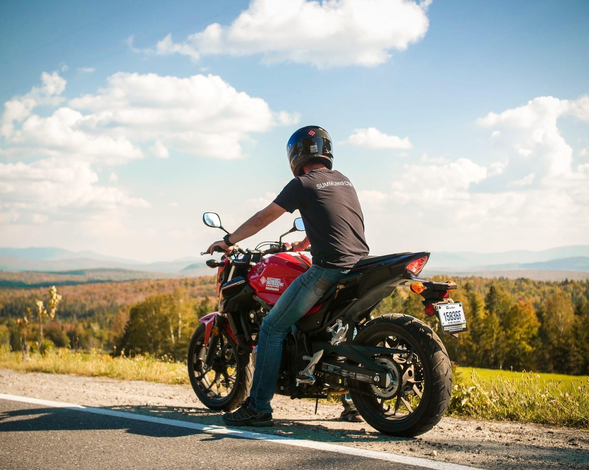 La région de Mégantic à moto