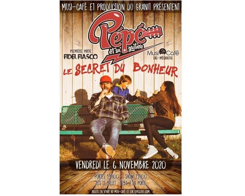 Pépé et sa Guitare au Musi-Café !