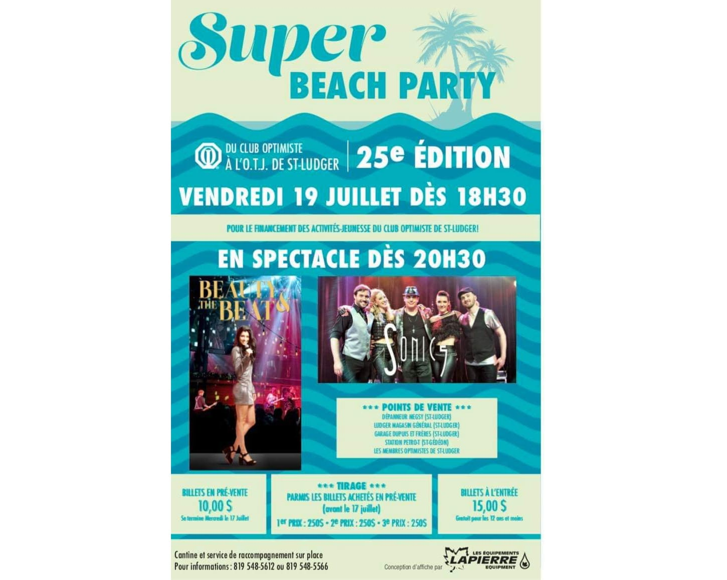 Super beach party