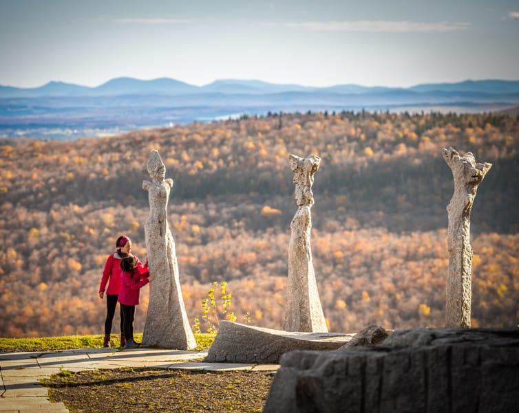 Sentiers de l'Oratoire, du Pic, de la Grue hiking trails
