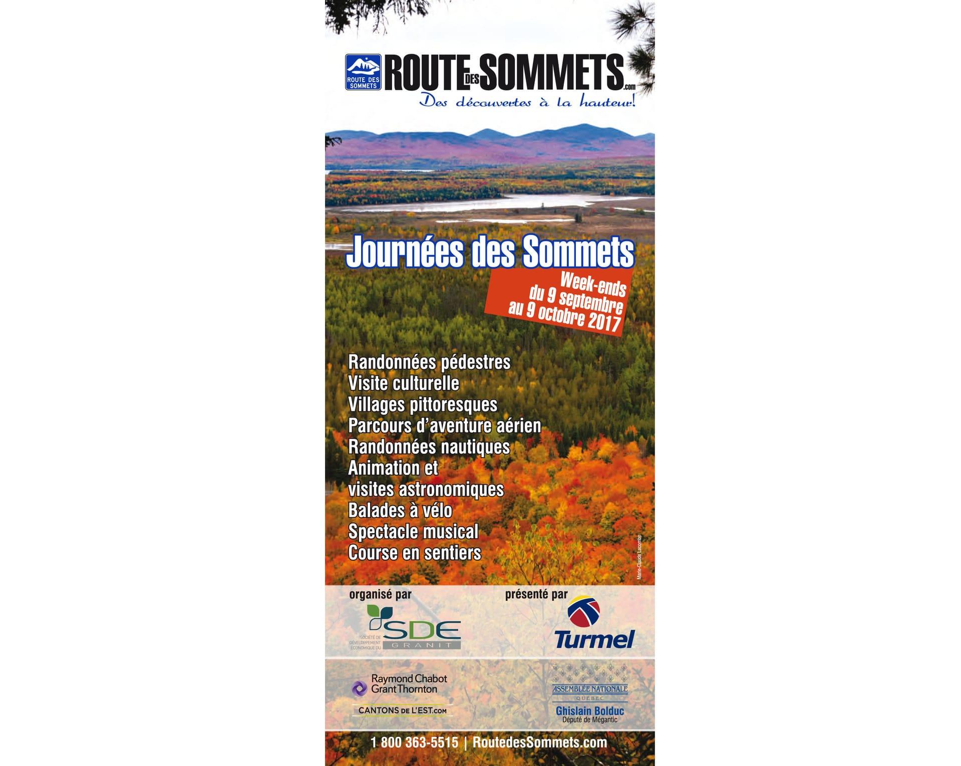 Journées des Sommets, 23 et 24 septembre
