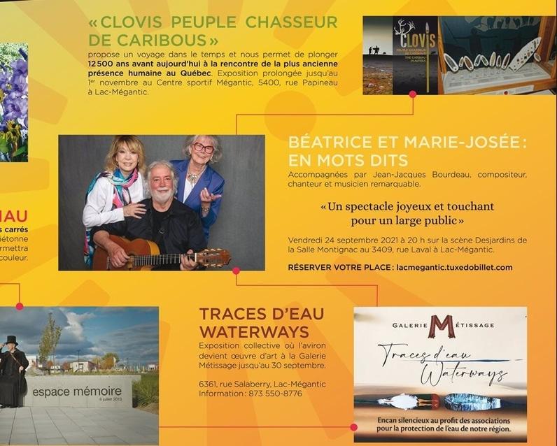 Les Journées de la Culture 2021 - Lac-Mégantic