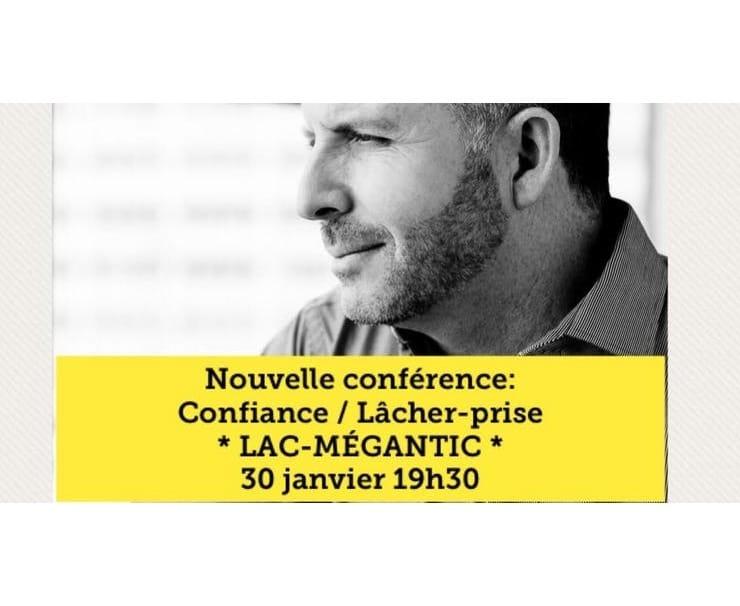 Conférence lâcher-prise avec Marc Gervais