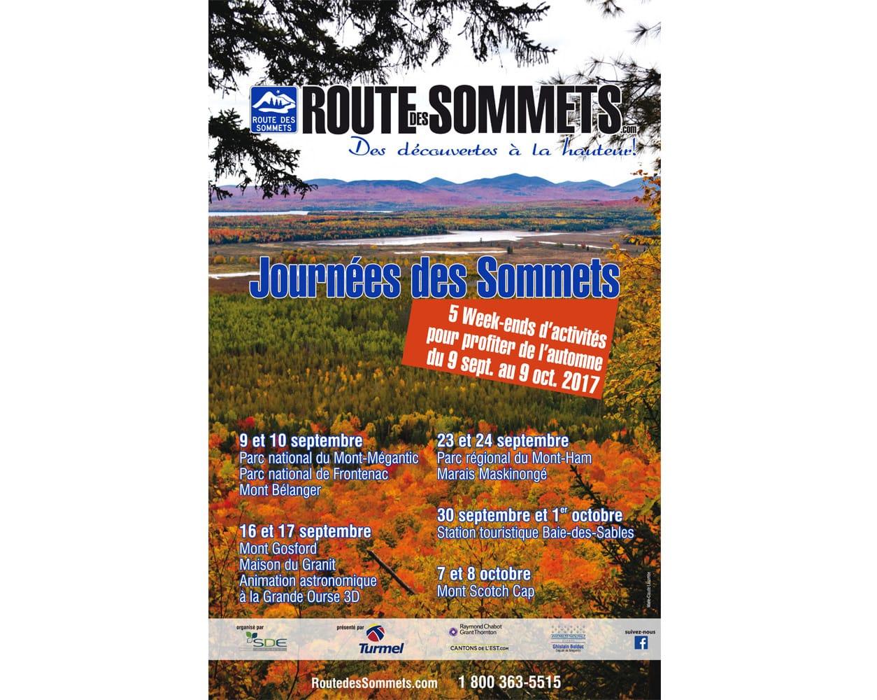 Les Journées des Sommets, 7 et 8 octobre