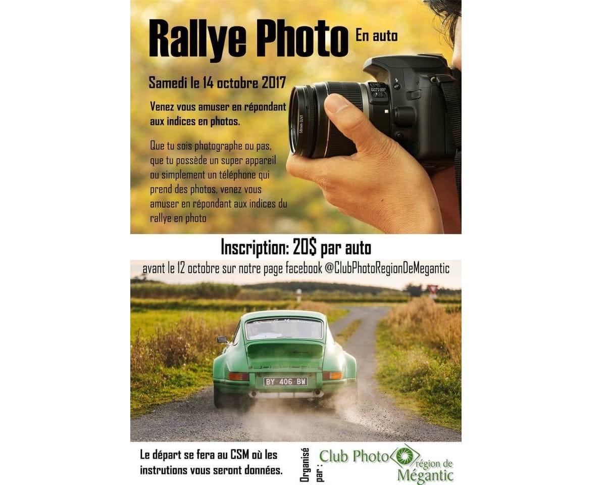 Rallye Photo en auto