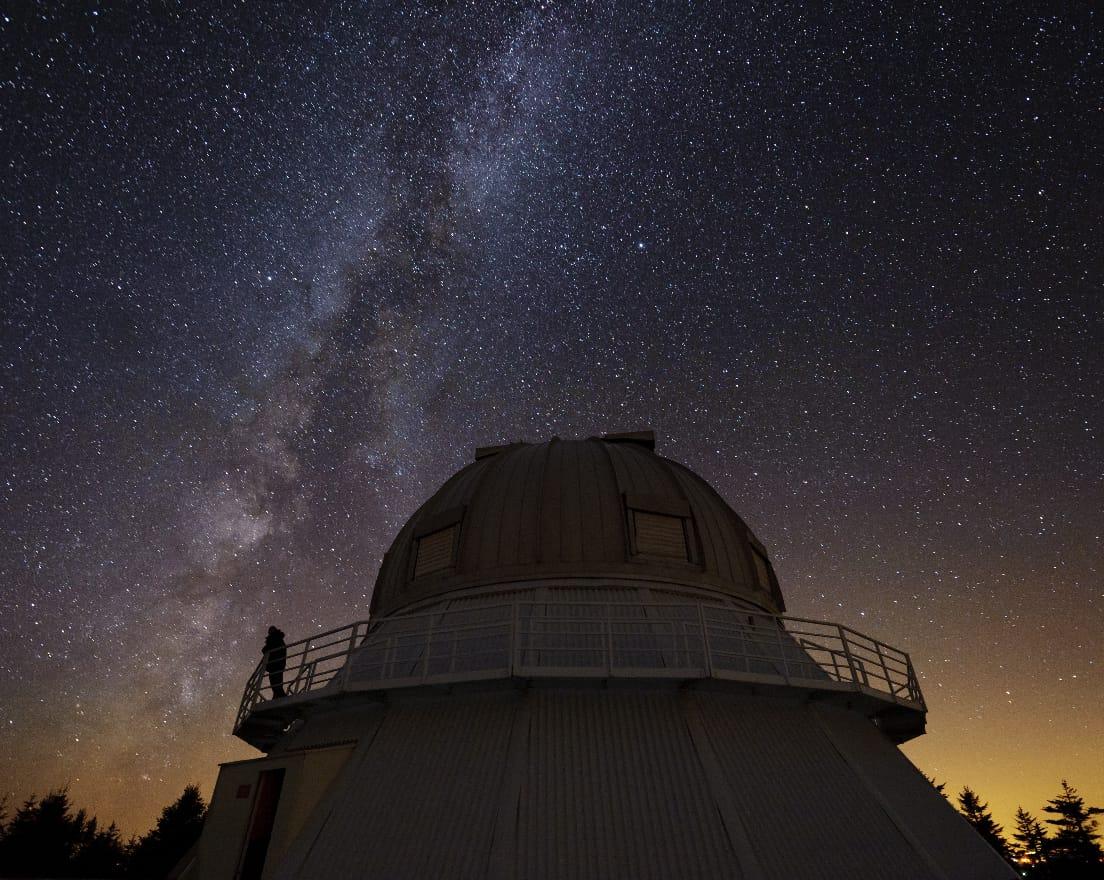 Soirées d'astronomie aux flambeaux à l'Astrolab