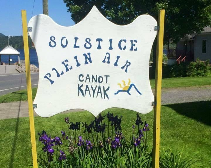 Solstice plein air - Canoe and kayak rental