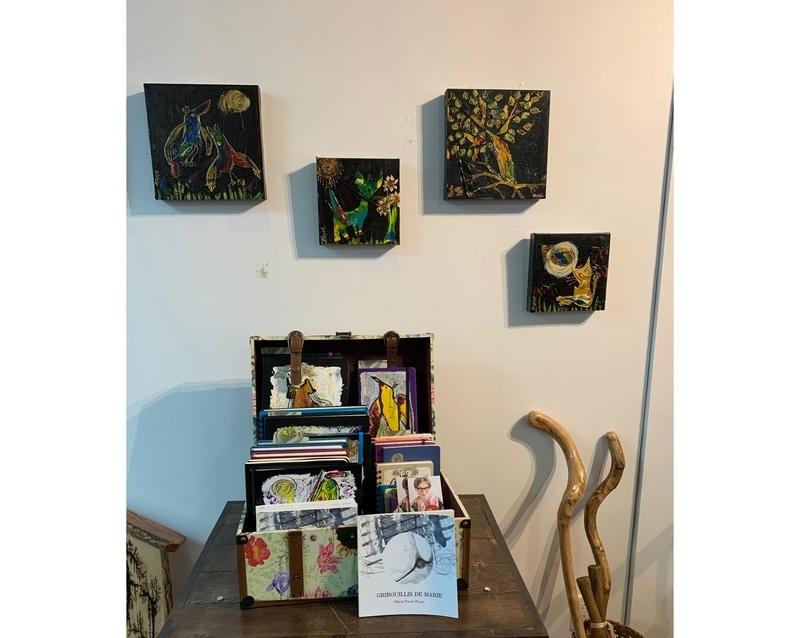 """Exposition à la Galerie Métissage, """"Petites oeuvres sont grandes"""""""