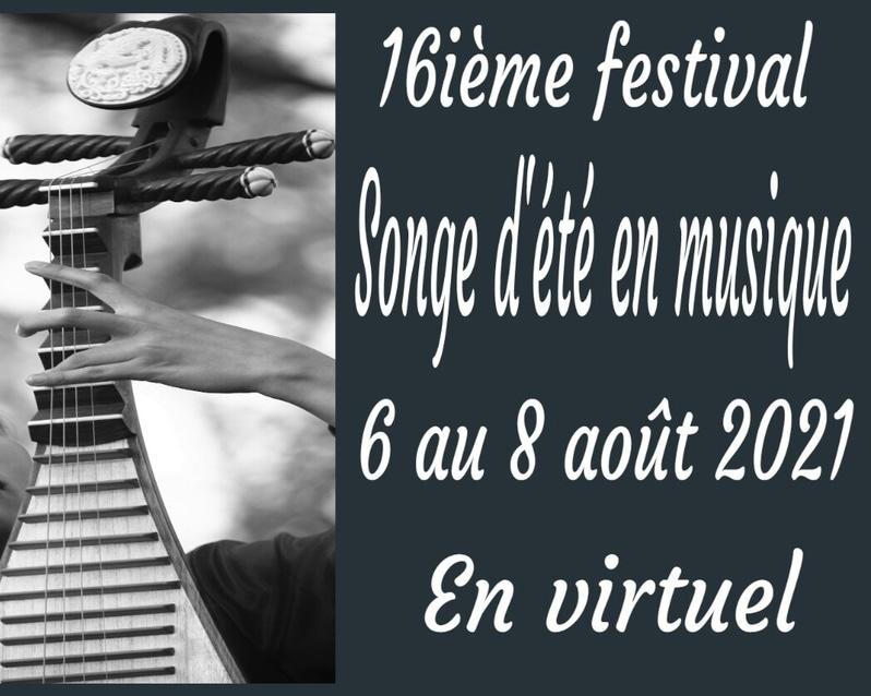 Songe d'été en musique 2021 Festival virtuel