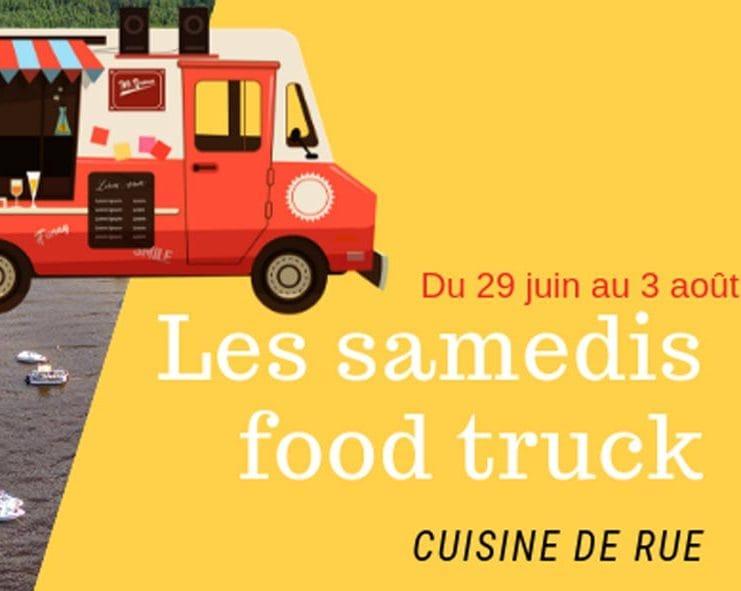 Food truck sur la plage - La Panthère verte et Nathan Gagnon