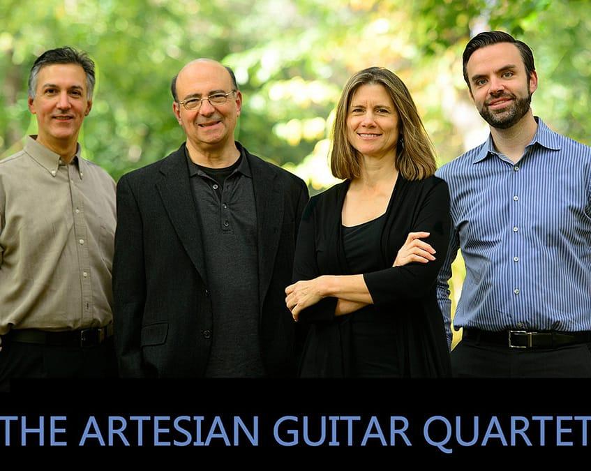 Artesian Guitar Quartet, voix et flute - Concert d'ouverture
