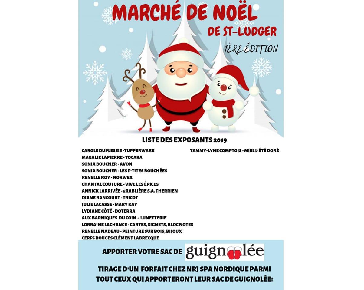 Marché de Noël de St-Ludger