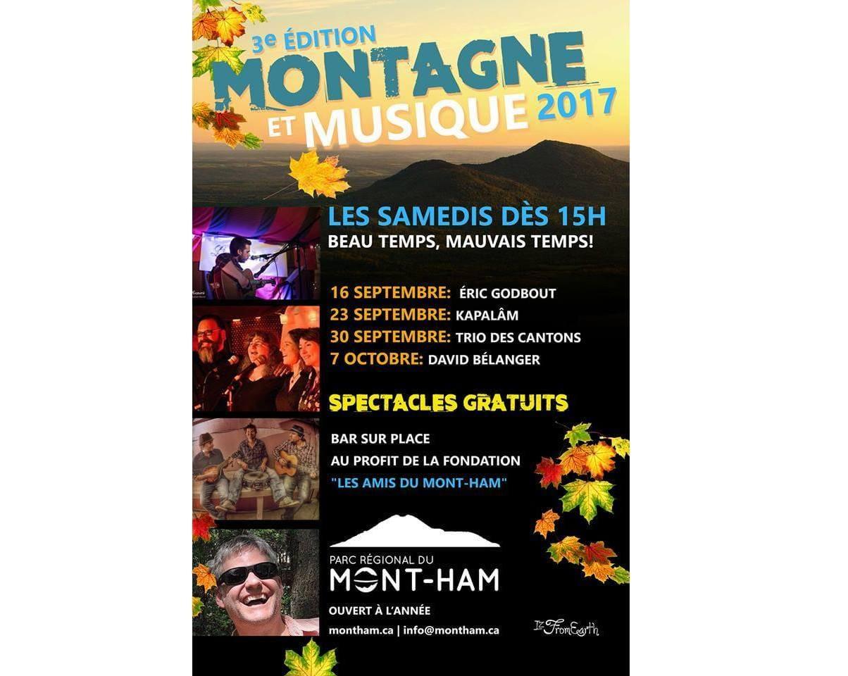 Montagne et musique 2017, 3e édition