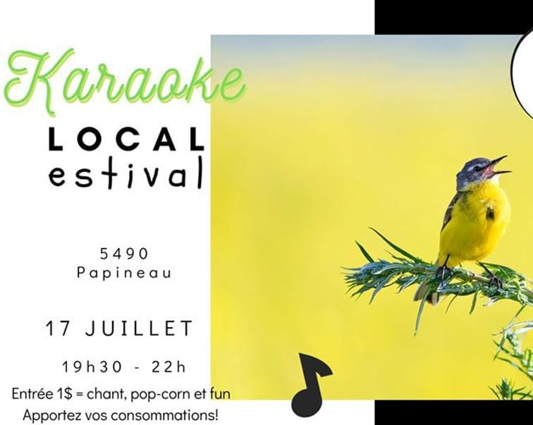 Soirée Karaoké - Local Estival