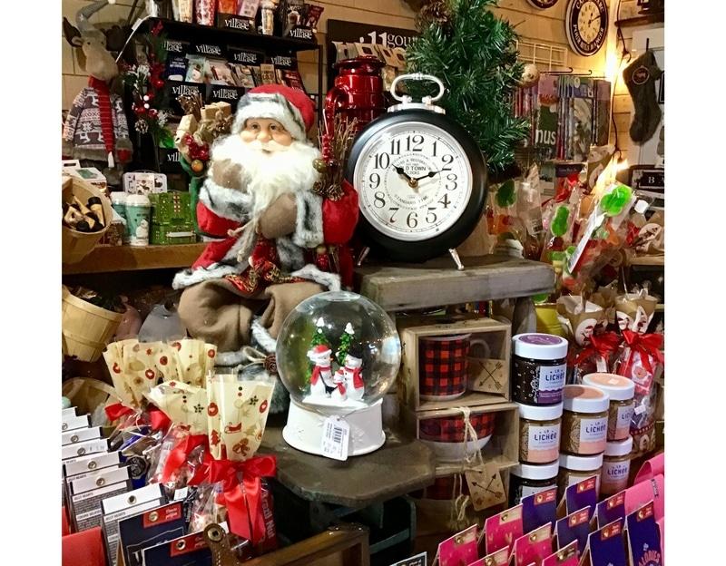 De tout pour un Noël magique, Boutique Les Belles du Lac, à Piopolis