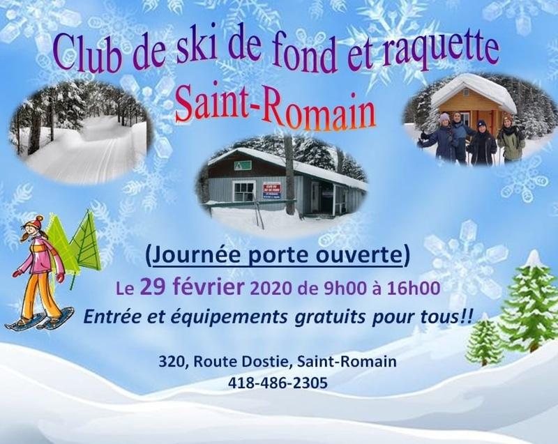 Journée porte ouverte  - Club de ski de fond et raquette Saint-Romain
