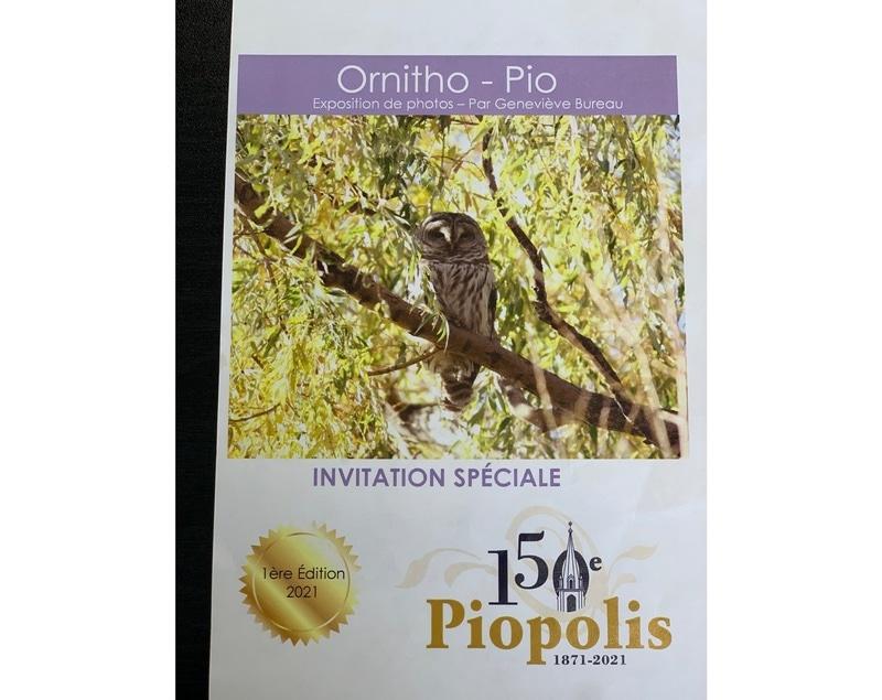 Ornitho-Pio / Exposition de photos