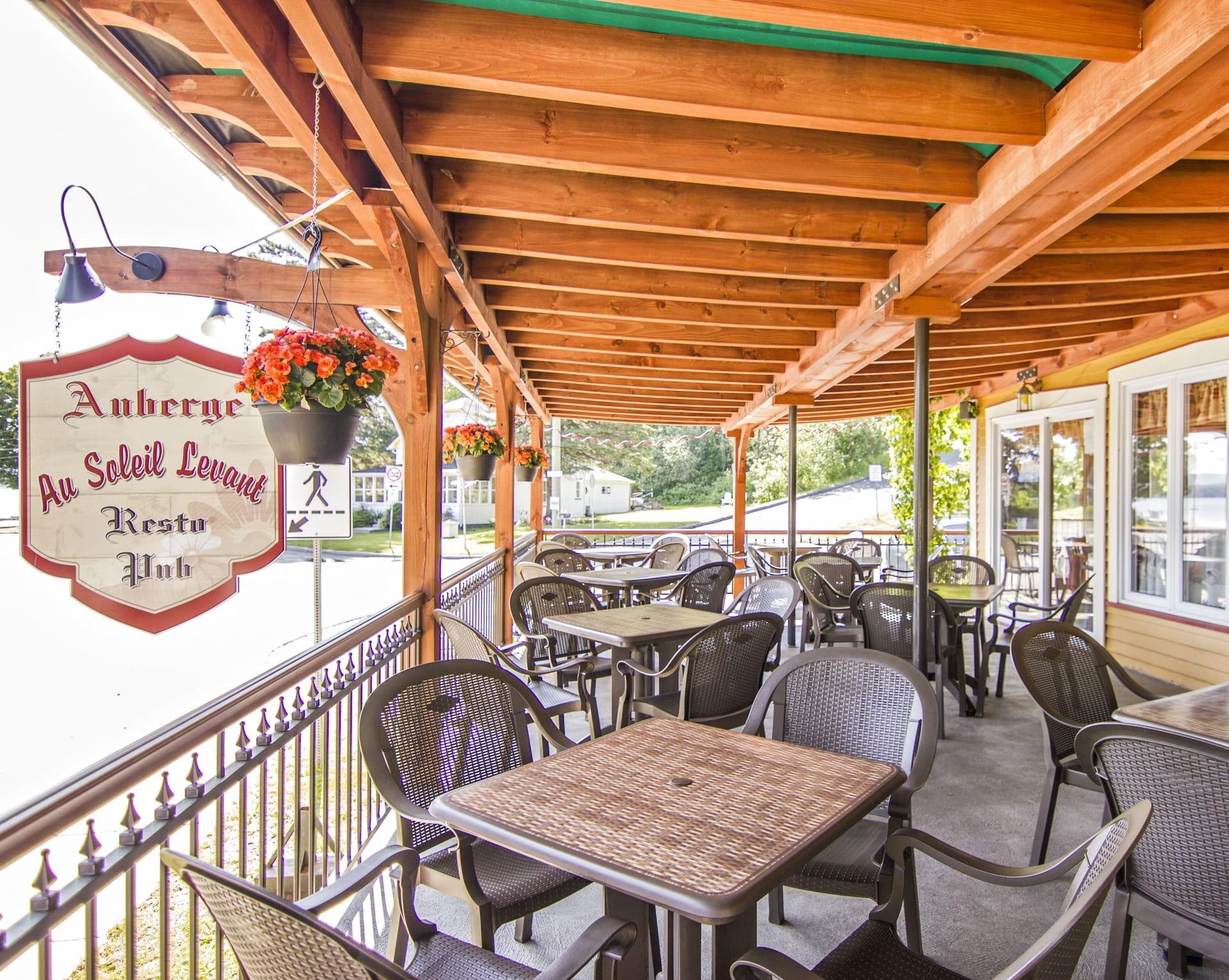 Auberge Au Soleil Levant Resto-bar