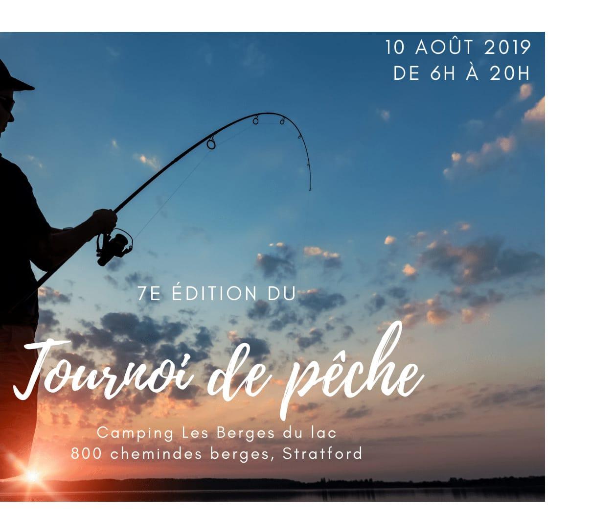 Tournoi de pêche aux Berges du Lac - 7e édition