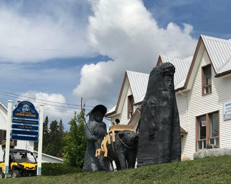 Laurier Gauthier's exhibition centre