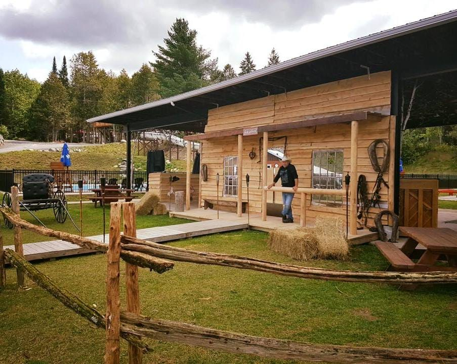 10 heures de danse country au Camping Aventure Mégantic