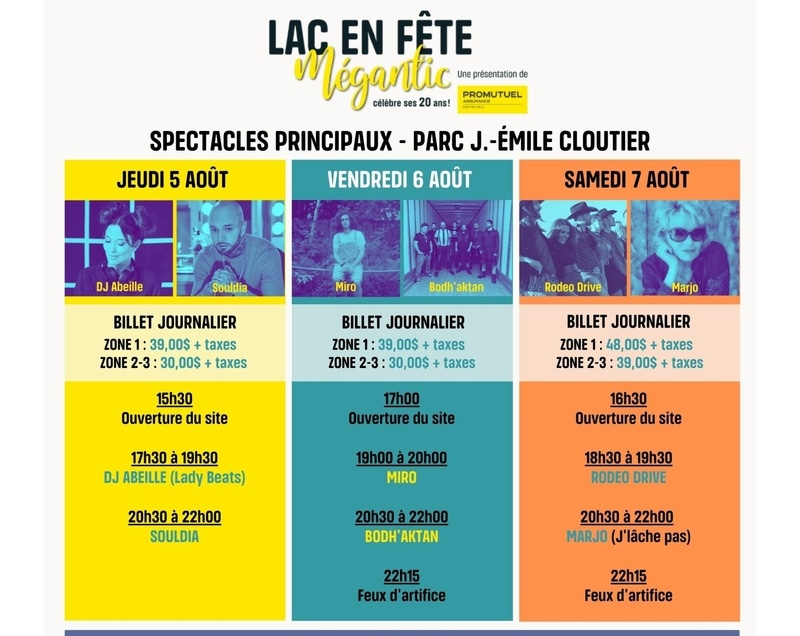 Lac en Fête Mégantic - DJ Abeille