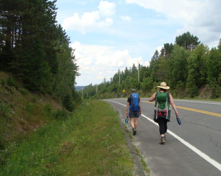 Parcours de marche au coeur de Mégantic - Mini Compostelle, 115 km