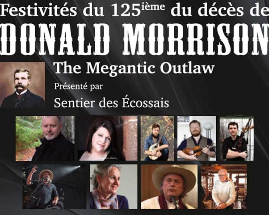 Festivités du 125e du décès de Donald Morrison présentent le grand rassemblement écossais