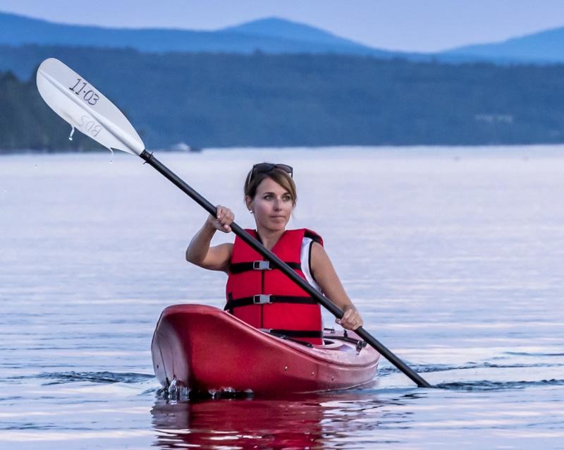 Kayak ou canot dans la région de Mégantic