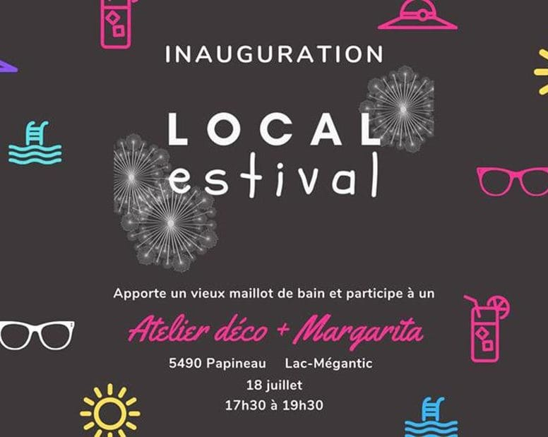 Inauguration officielle du local estival