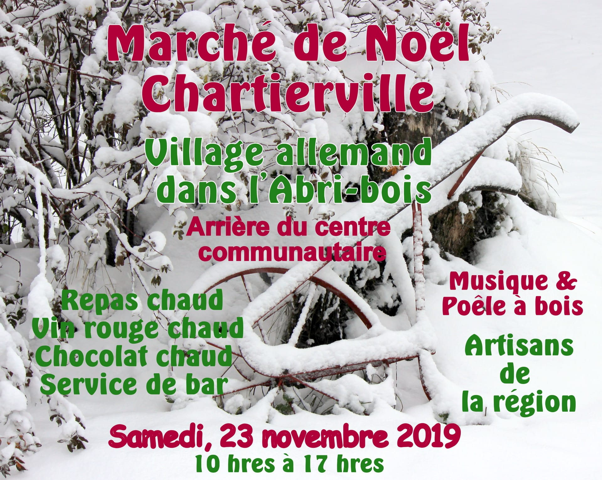 Marché de Noël de Chartierville