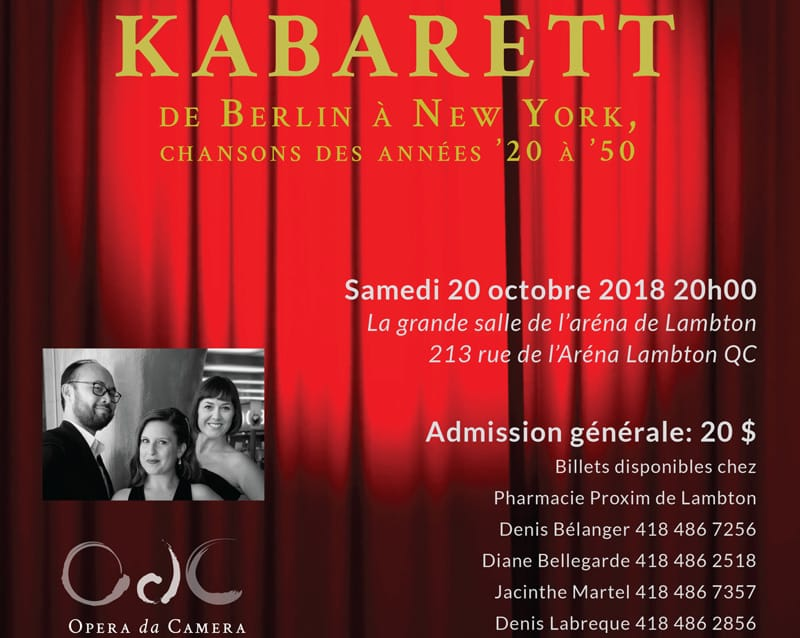 KABARETT - de Berlin à New York